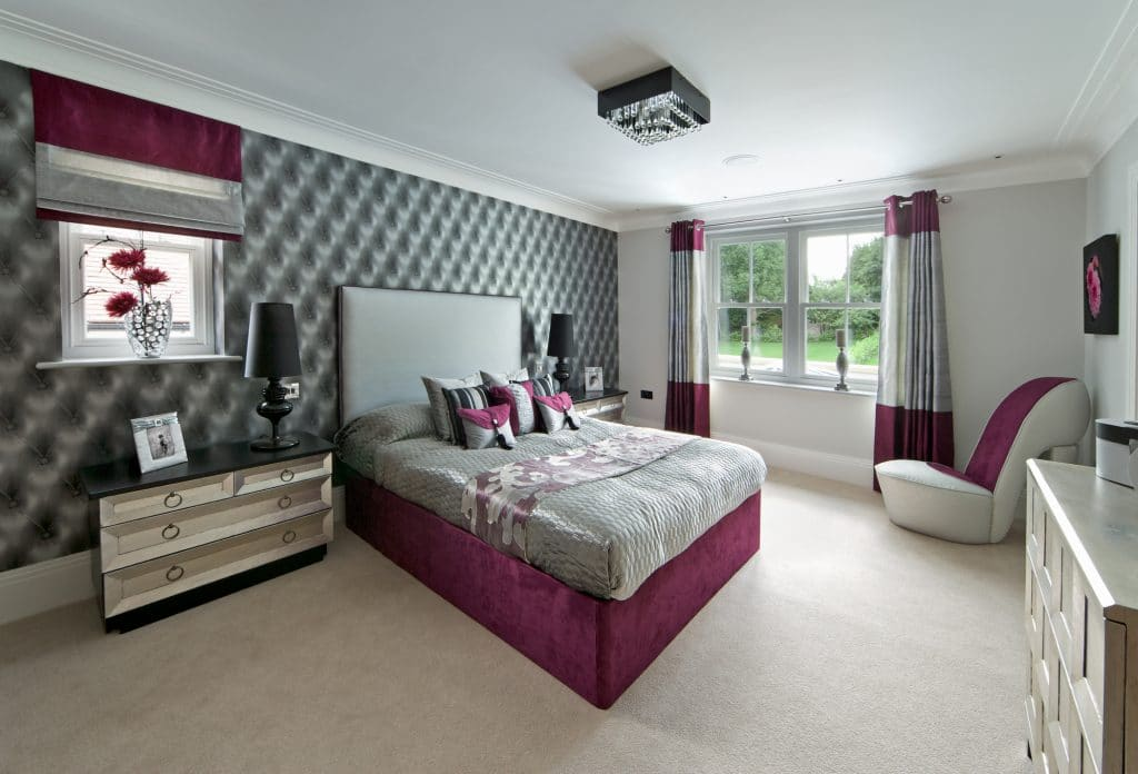 elegant girl's bedroom